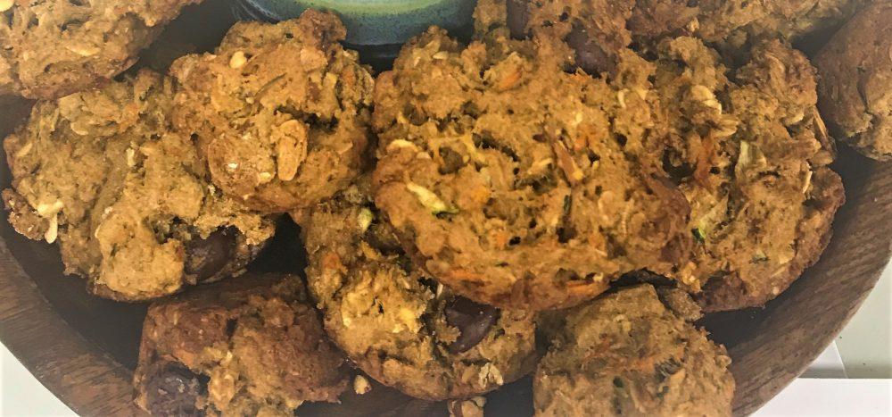 Immune Booster Carrot Zucchini Muffins