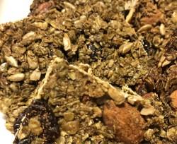 hojicha matcha granola bars - delicious with Greek yogurt