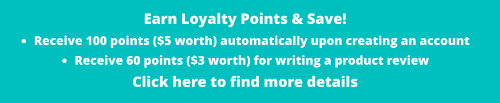 Earn loyalty points!