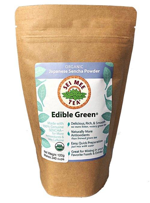 Edible Green Sencha Powder economical pouch