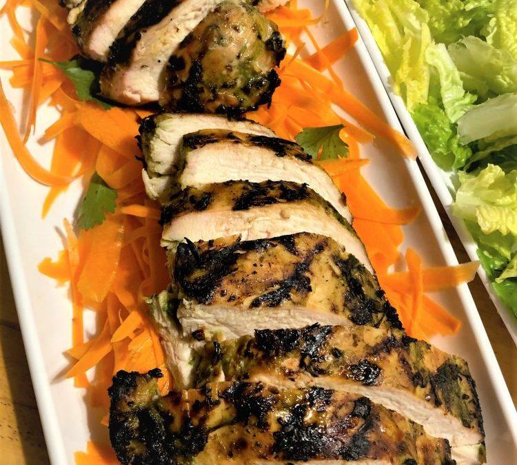matcha grilled chicken