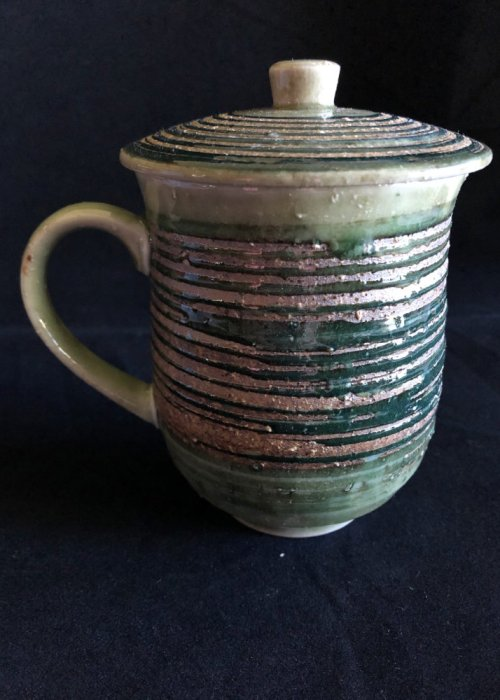 "Mug with Lid ""Hakeme"""
