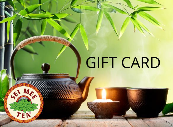 tea gift card