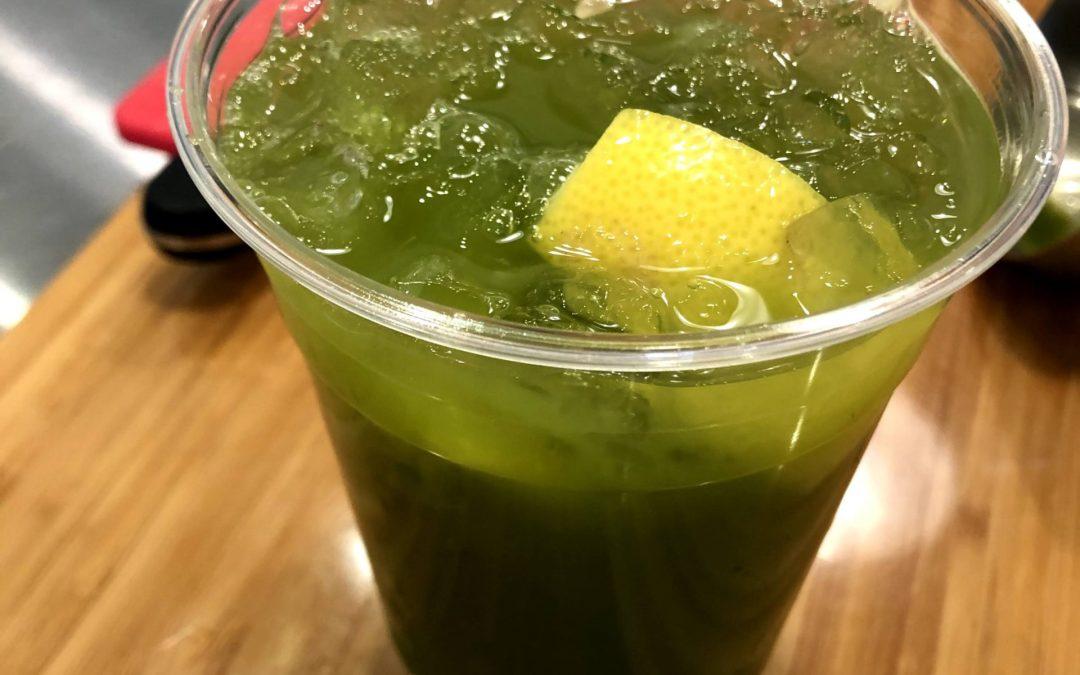 Delicious Iced Matcha Lemon
