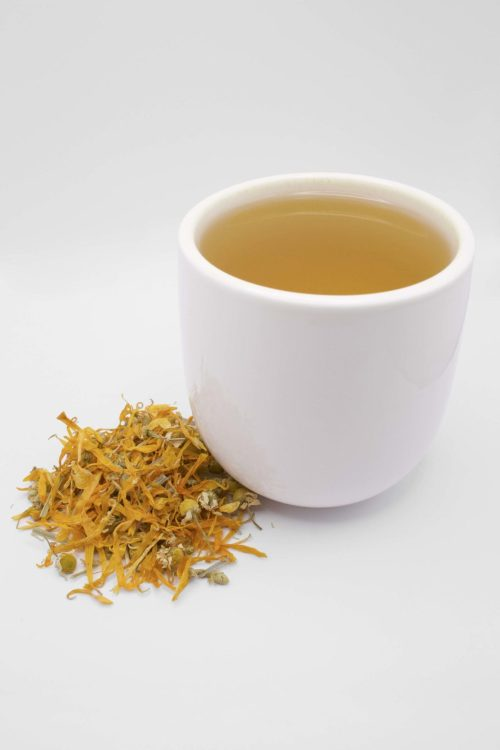 Chamomile Evening Garden Cup of Tea