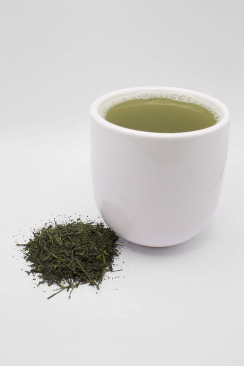 Fukamushi Sencha Cup of Tea