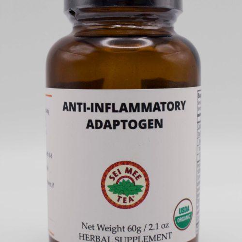 Anti Inflammatory Adaptogen Jar front view