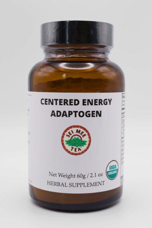 Centered Energy Adaptogen Jar front view