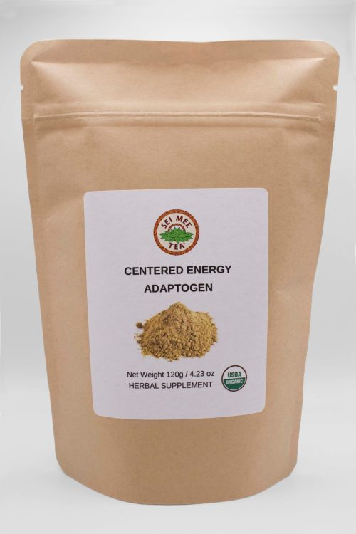 Centered Energy Adaptogen Pouch front view
