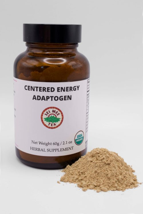 Centered Energy Adaptogen Jar with powder
