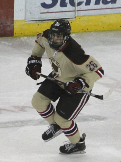 Brown University's forward Tommy Marchin.