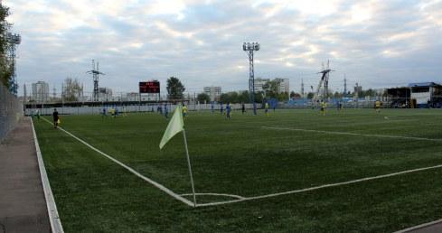 Another view of Reutov's Start Stadium.