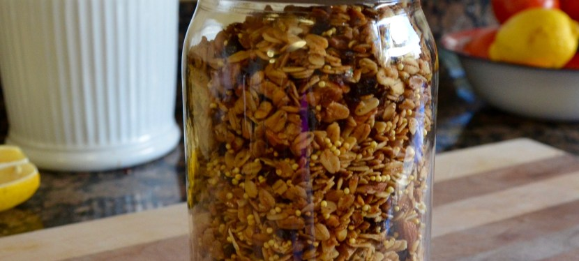 Basic Maple Granola Recipe