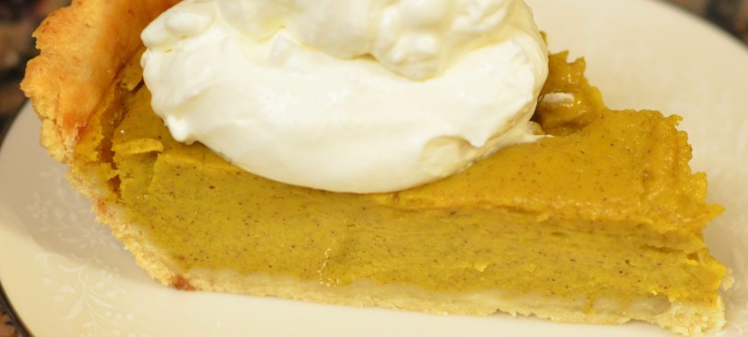 Pumpkin pie from fresh pumpkin completely unnecessary.