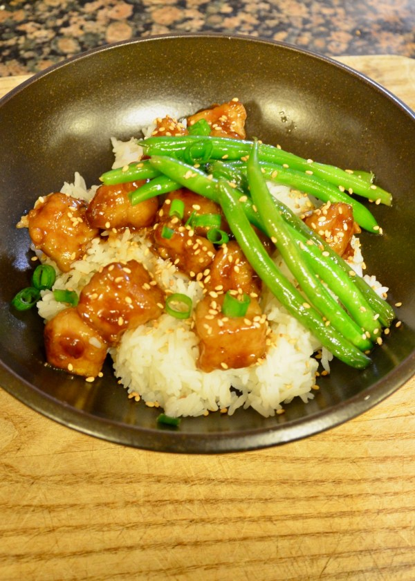 Sesame-tofu-over-rice