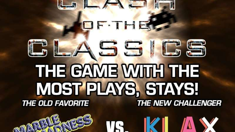 Image for Clash of the Classics: Marble Madness VS. KLAX