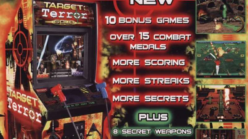 Image for New in the Arcade – Target: Terror Gold