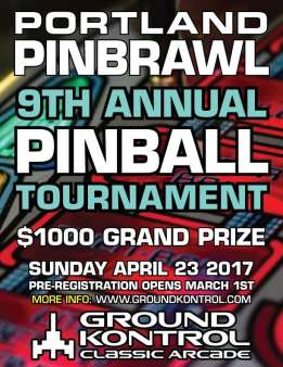 Portland Pinbrawl 2017