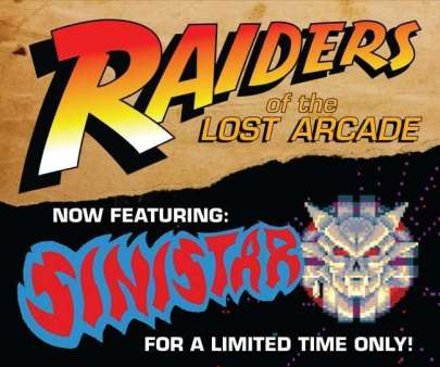 Raiders of the Lost Arcade: Sinistar