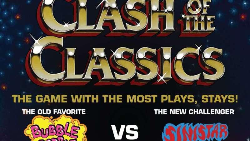 Image for Clash of the Classics – Bubble Bobble VS Sinistar