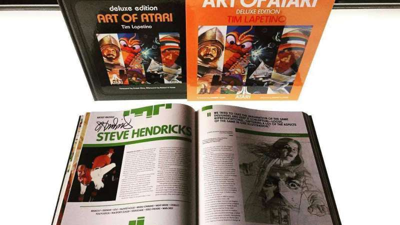 Image for Available Now: Art of Atari Deluxe Edition (Signed!)