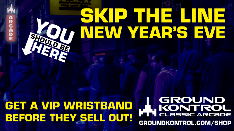 Image for Now Available: New Year's Eve 2018 VIP Wristbands – While They Last!