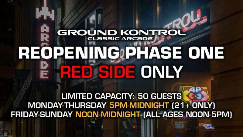 Image for Phase One Reopening Information