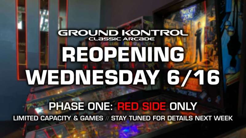 Image for Reopening Wednesday June 16th