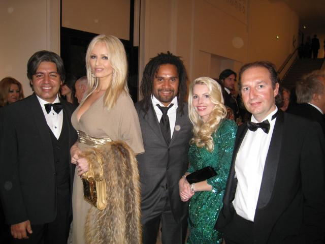 Adriana and Christian Karembeu : still friends, but separated