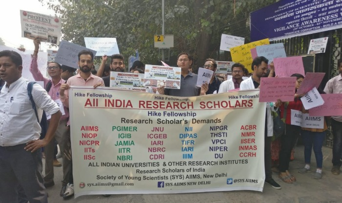 Fellowship Hike, Research scholars, MHRD, New Delhi, Fellowship