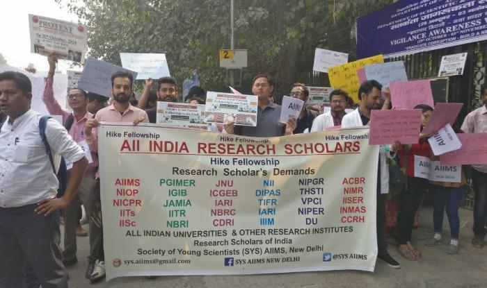 Fellowship Hike, Research scholars, MHRD, New Delhi, Fellowship