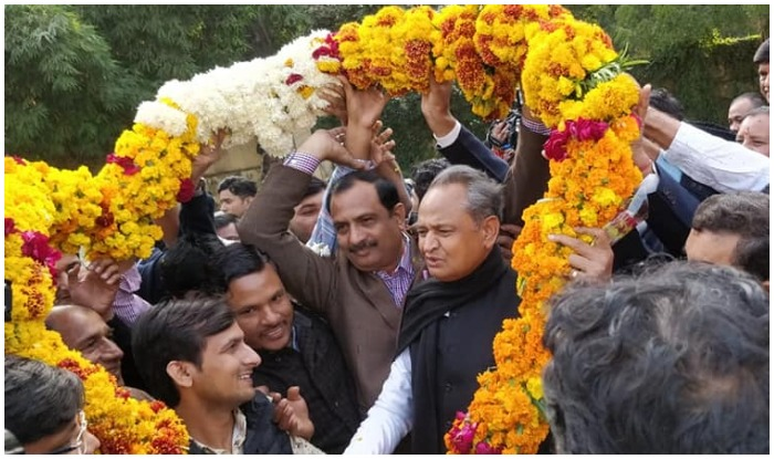 congress Leader ashok gehlot to be new chief minister of rajasthan deputy CM sachin pilot