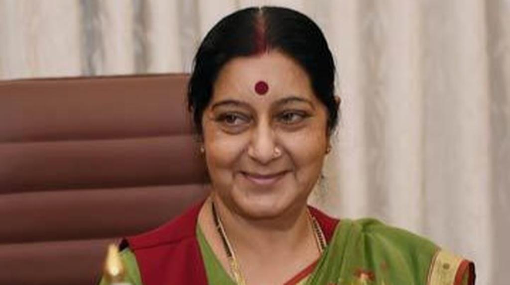 Former External Affairs Minister Sushma Swaraj has died aged 67 read her last tweet on jammu kashmir article 370
