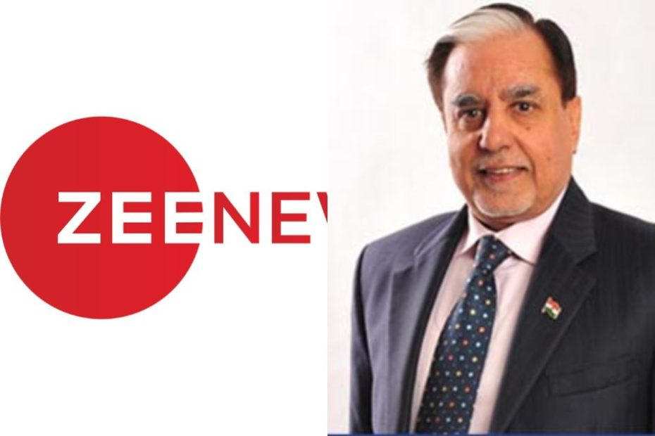 Subhash Chandra Resigns from ZEE Media Group