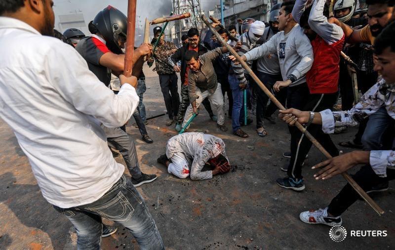 Reuters Delhi Violence Report
