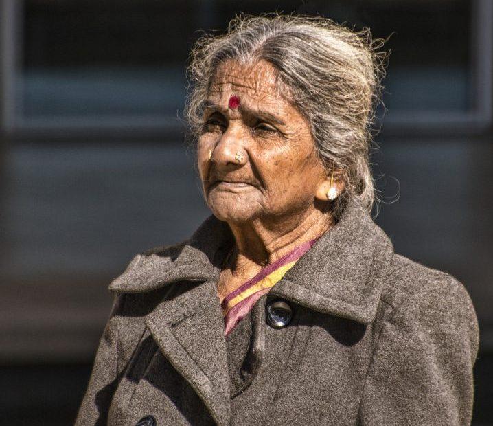 Old Age People In Lockdown