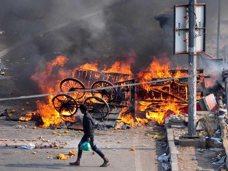 Tahir Hussain Behind Delhi Violence