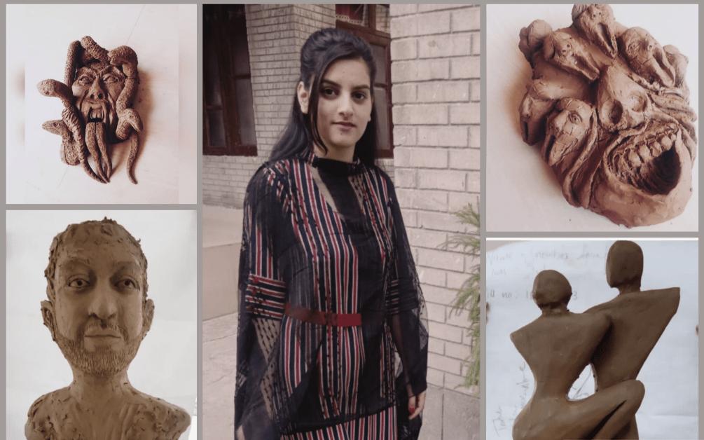Meet Snowber Trumboo, an upcoming sculpture artist from Kashmir