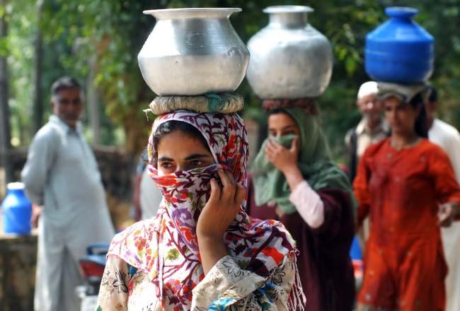 water scarcity Kashmir