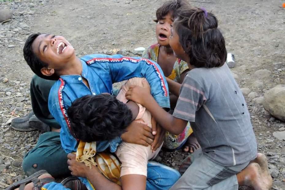 "Casteism in India Madhya Pradesh Guna Dalit family farmer ""No Option But To Kill Self"": Land Seized, Farmer Couple Drinks Pesticide"