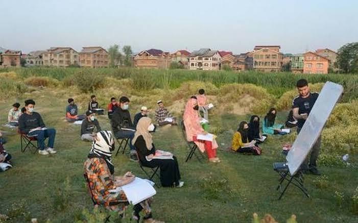 Munir Alam Open air Classes