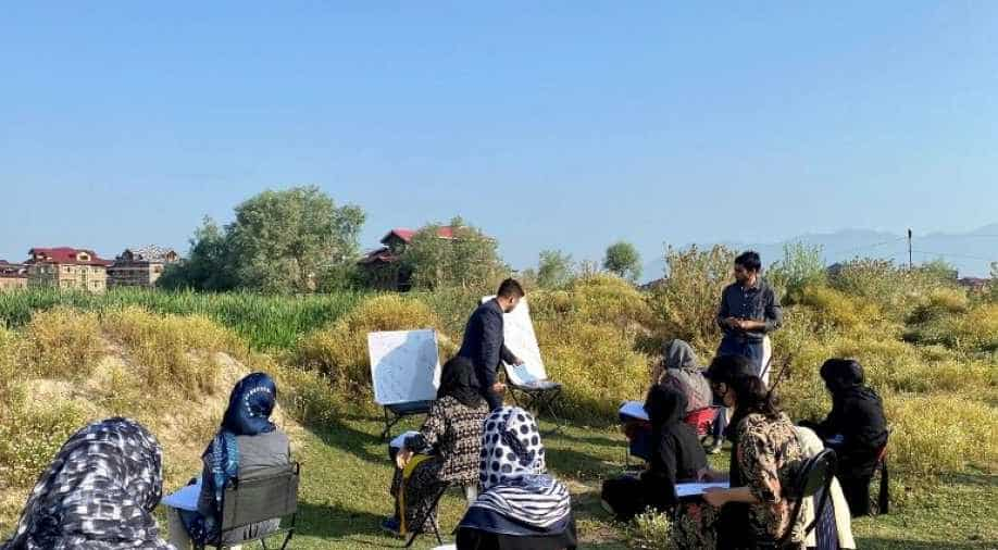 Munir Alam engineer turned teacher saving future of Kashmir
