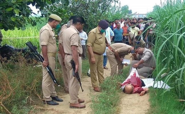 UP : रामराज्य बना 'क्राइम राज्य', भाजपा के पूर्व जिलाध्यक्ष की गोली मारकर हत्या