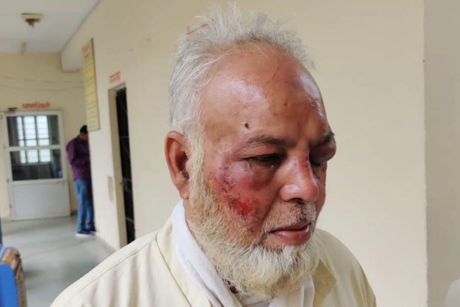 राजस्थान : जय श्री राम और मोदी ज़िंदाबाद ना कहने पर मुस्लिम बुज़ुर्ग को बुरी तरह पीटा गया