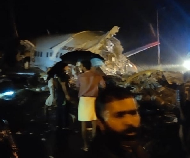 Air India aircraft crash in Kerala, split into two planes, 190 passengers aboard