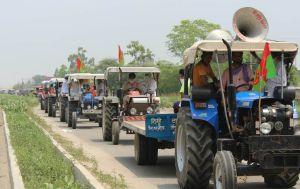 किसान अध्यादेशों का विरोध