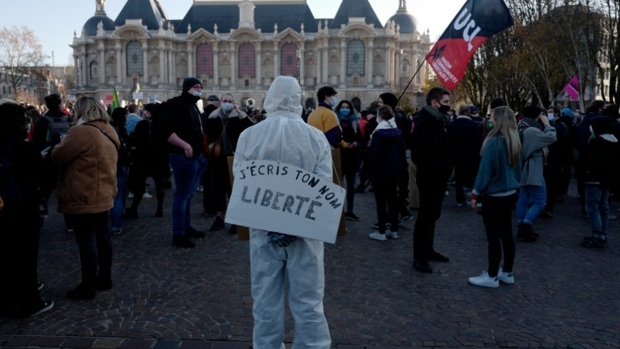 Explainer: Implications of the 'Global Security' Bill That Ban Dissemination of Police Images in France