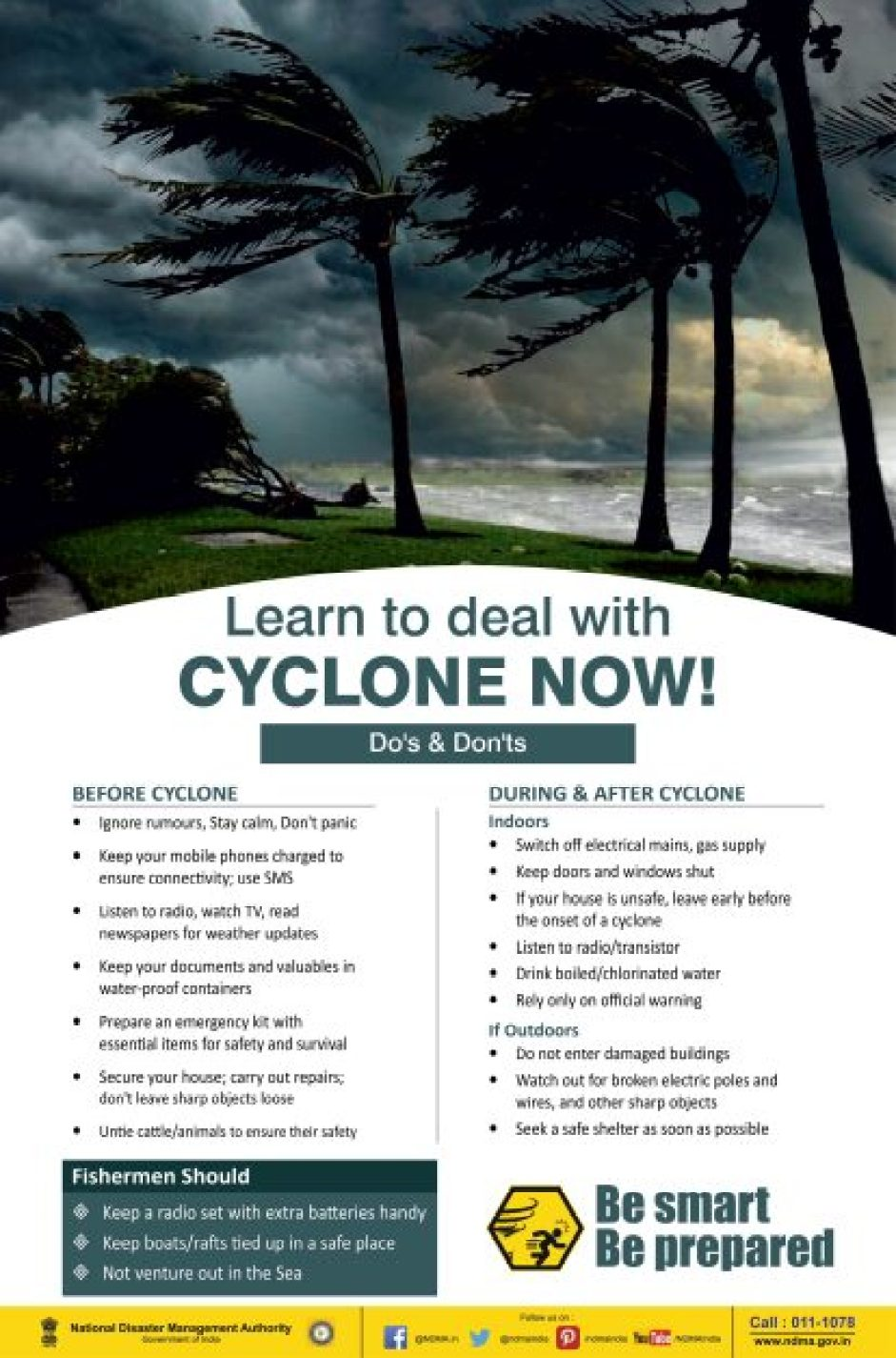 nivar cyclone do's and dont's