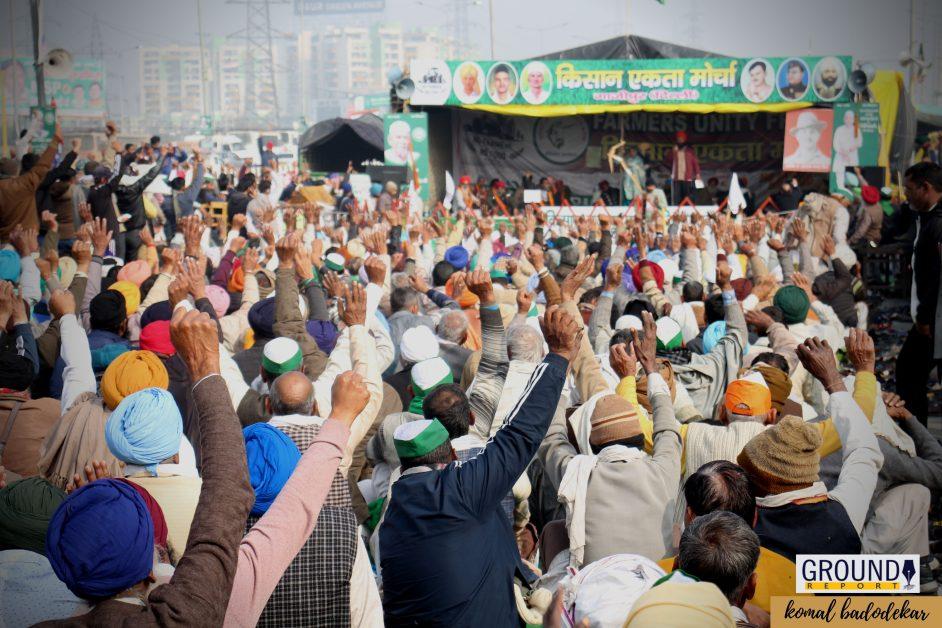सिंघू बॉर्डर पर आंदोलन कर रहे किसानों पर फायरिंग
