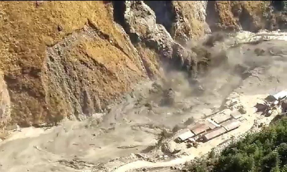 chamoli uttrakhand glacier burst